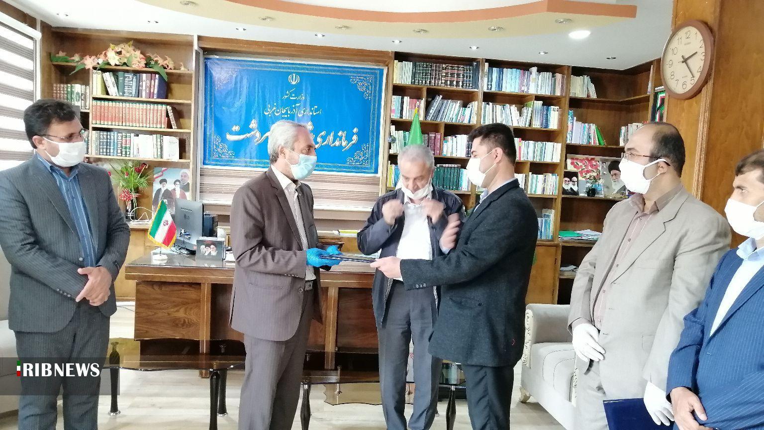 معرفی رییس جدید دانشگاه پیام نور سردشت