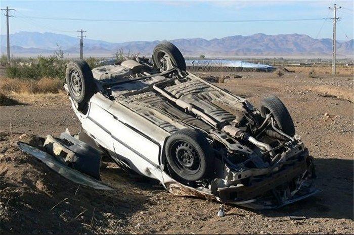 یک کشته و چهار مصدوم در واژگونی تیبا