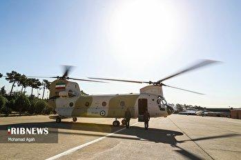 تحویل دهی 10 فروند بالگرد توسط وزارت دفاع به نیروهای مسلح