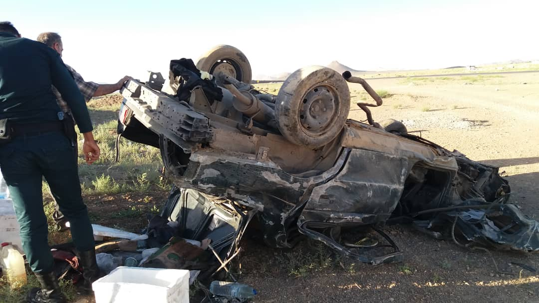 سانحه مرگبار رانندگی در جاده شیراز- اصفهان