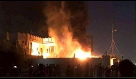 انفجار لوله گاز در قاهره