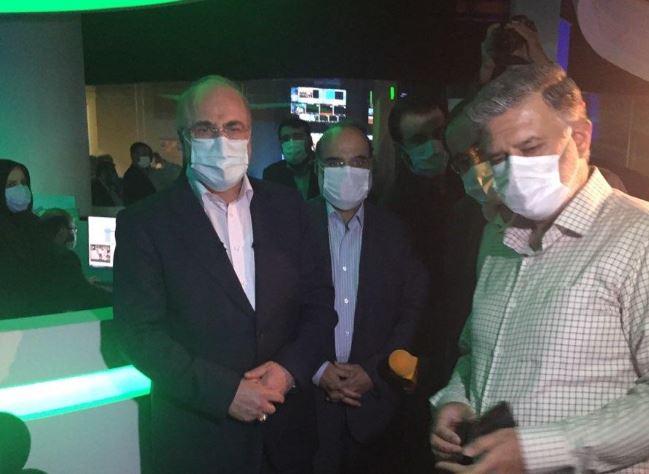 بازدید دکتر قالیباف از خبرگزاری صدا و سیما