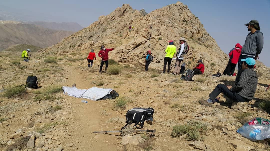 فوت یک کوهنورد در ارتفاعات بل اقلید