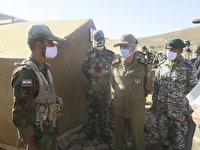 ارزیابی رعایت شیوه نامههای بهداشتی در اردوگاههای ارتش