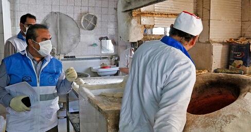 پلمپ سه واحد نانوایی متخلف در سبزوار