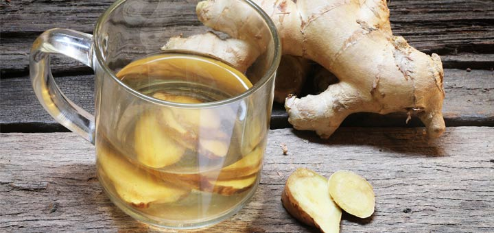 ۷ مزیت مهم نوشیدن آب زنجبیل با معده خالی