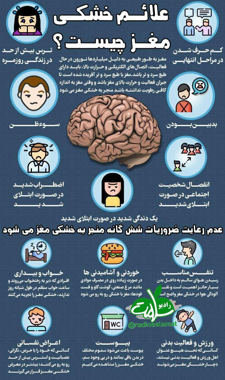 چگونه از خشک مغزی جلوگیری کنیم؟