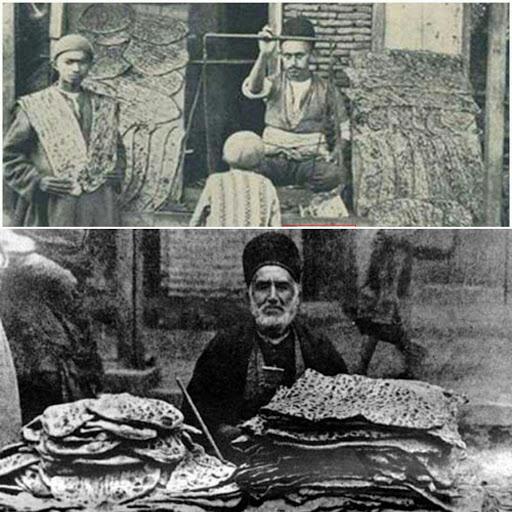 قصه نان سنگک در ایران