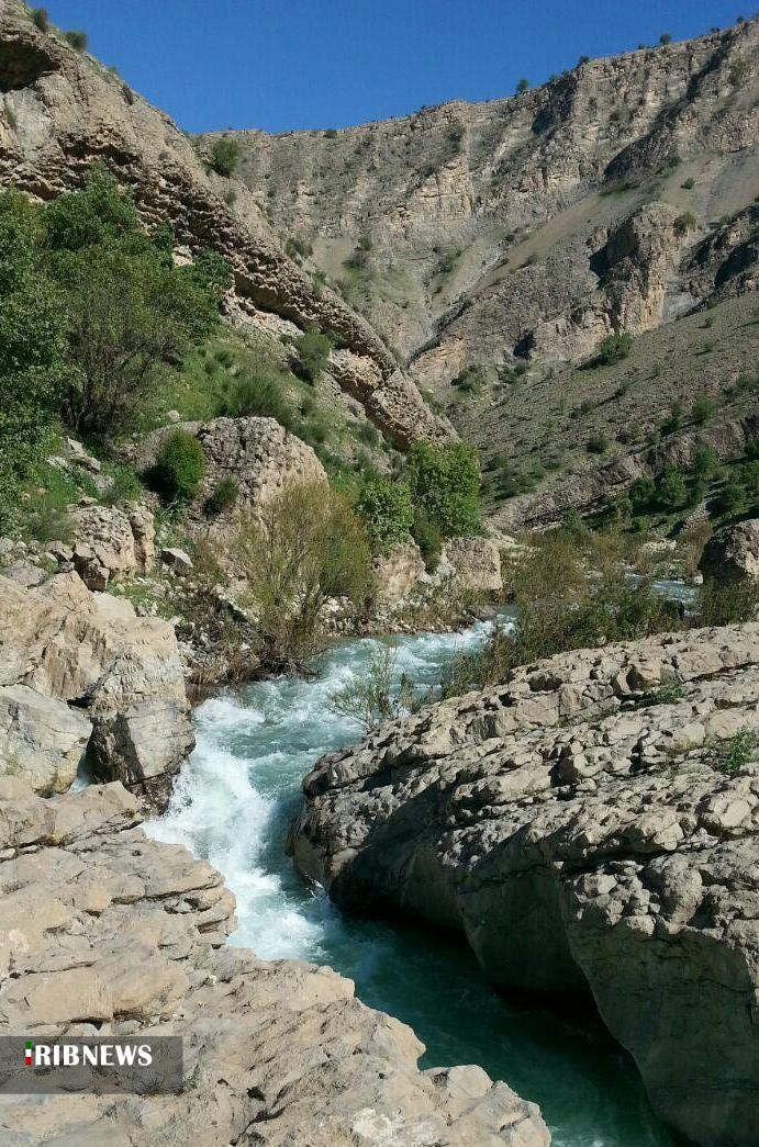 دره ویژدرون؛ مکانی حیرتانگیز در ایلام