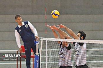 لیگ برتر والیبال / فولاد سیرجان 2 ـ 3 شهرداری ورامین
