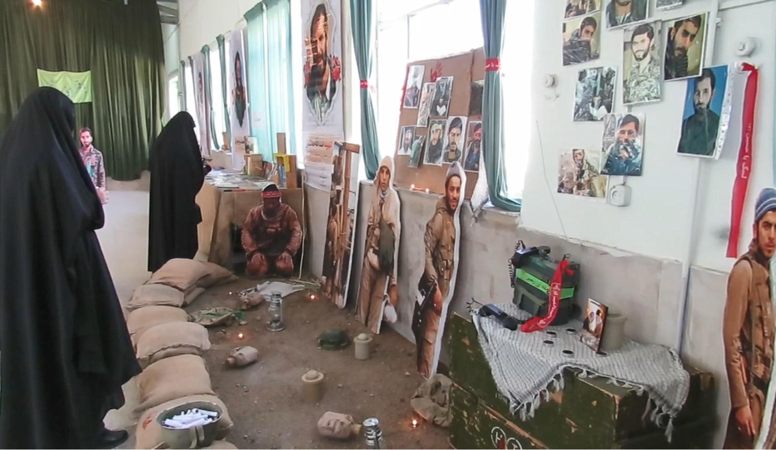 افتتاح نمایشگاه دستاوردهای انقلاب اسلامی در فراهان