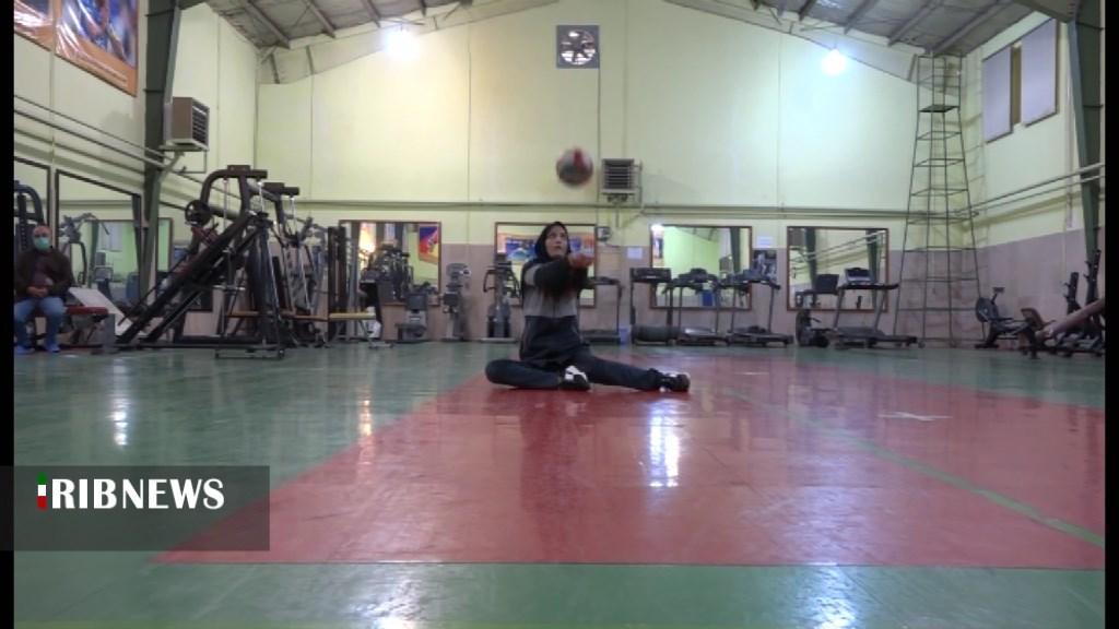 تمرینات والیبال نشسته ملی پوش کشورمان در خانه