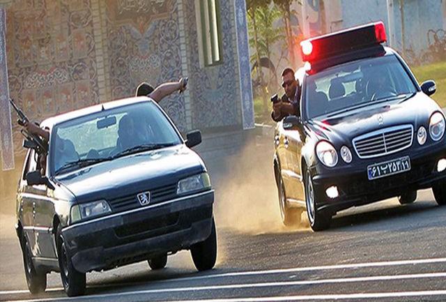 دستگیری سارق خودرو در پی انجام عملیات تعقیب و گریز پلیس