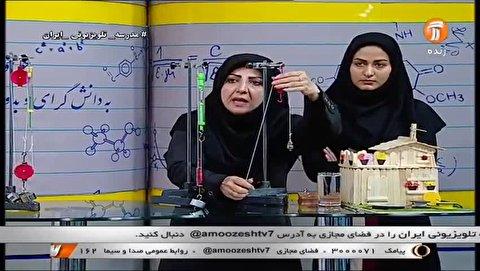 جدول زمانی آموزش تلویزیونی سه شنبه 20 آبان