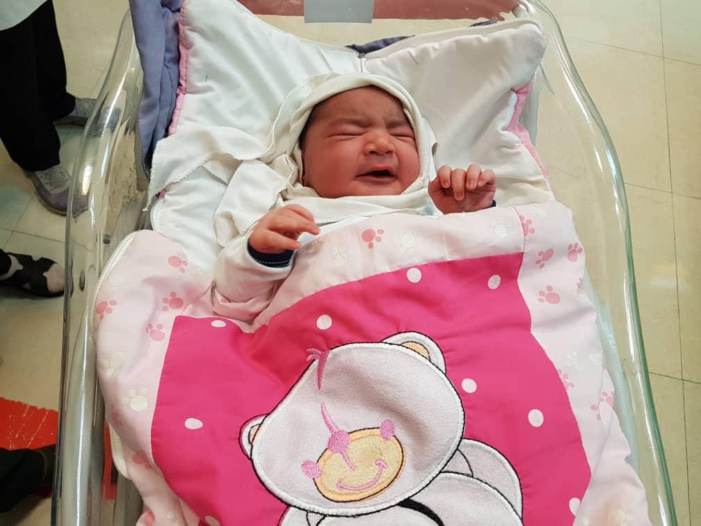 تولد نوزاد سنگین وزن خرمشهری ، دومین نوزاد سنگین ایران