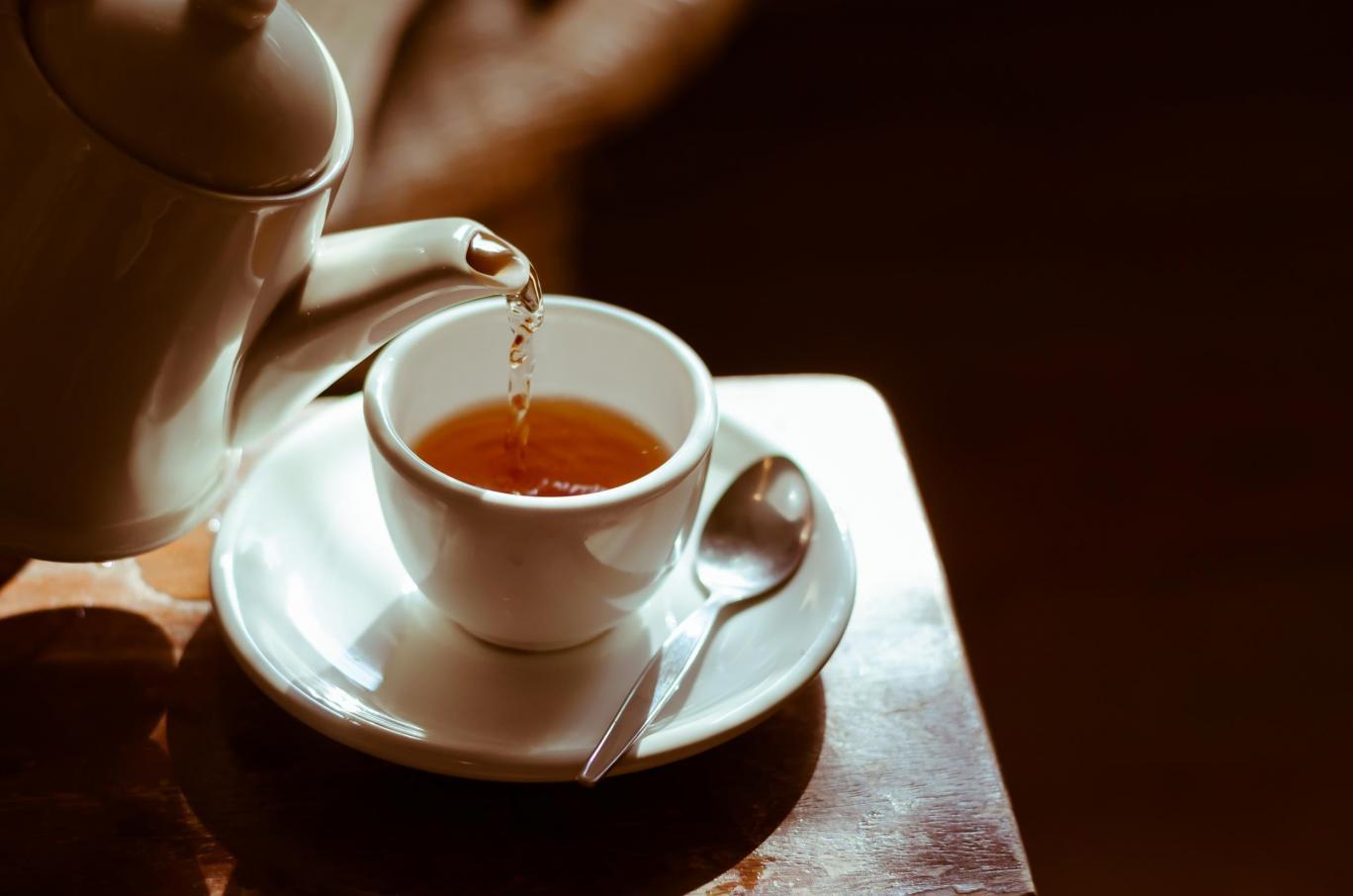 چاي با طعم کاغذ