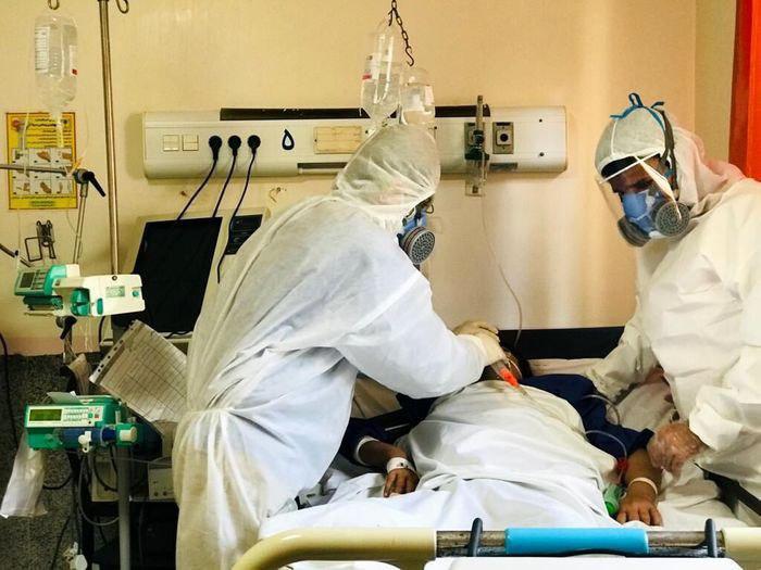 بستری بیماران مشکوک به کرونا در استان از ۸۰۰ نفر گذشت