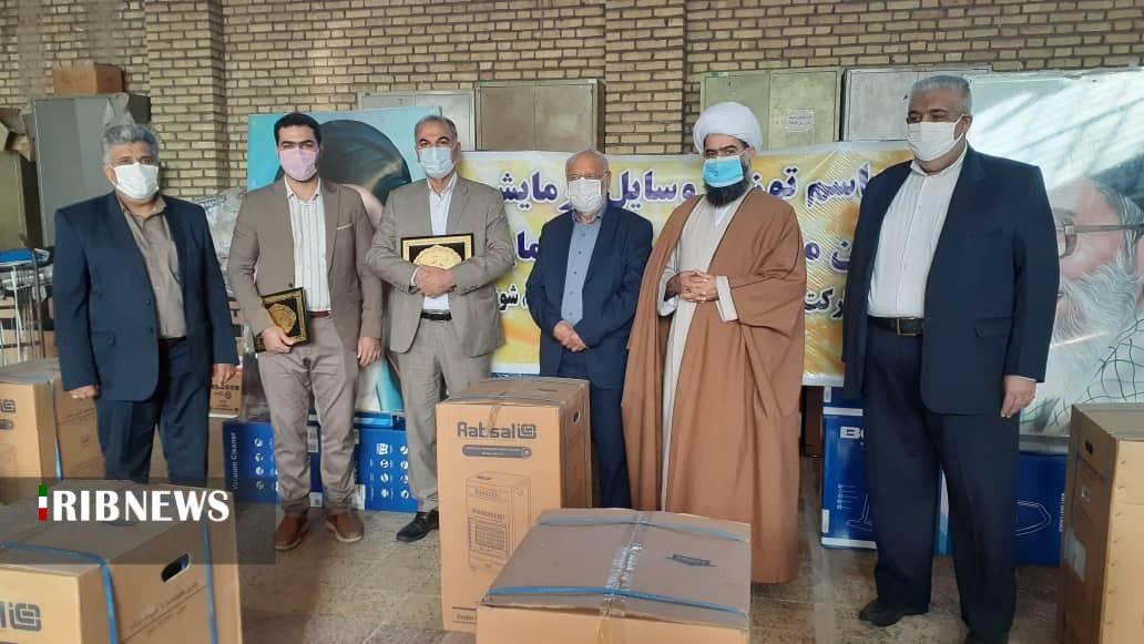 اهدای ۷۰دستگاه بخاری به مددجویان شوش