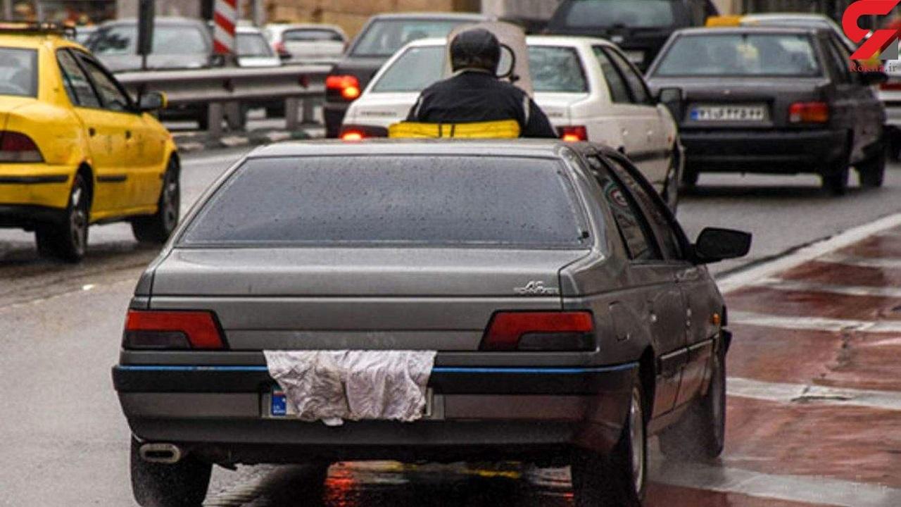 با مخدوش کنندگان پلاک خودرو در قزوین برخورد میشود