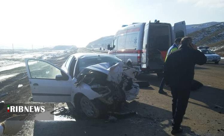 تصادف مرگبار محور تبریز-اهر ۸ کشته و مصدوم داشت