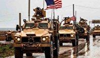 ورود کاروان نظامی آمریکایی از عراق به سوریه