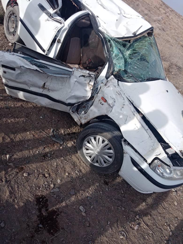 حادثه رانندگی در جاجرم  یک کشته برجا گذاشت,