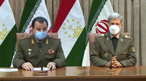 امضای تفاهم نامه همکاری دفاعی ایران و تاجیکستان
