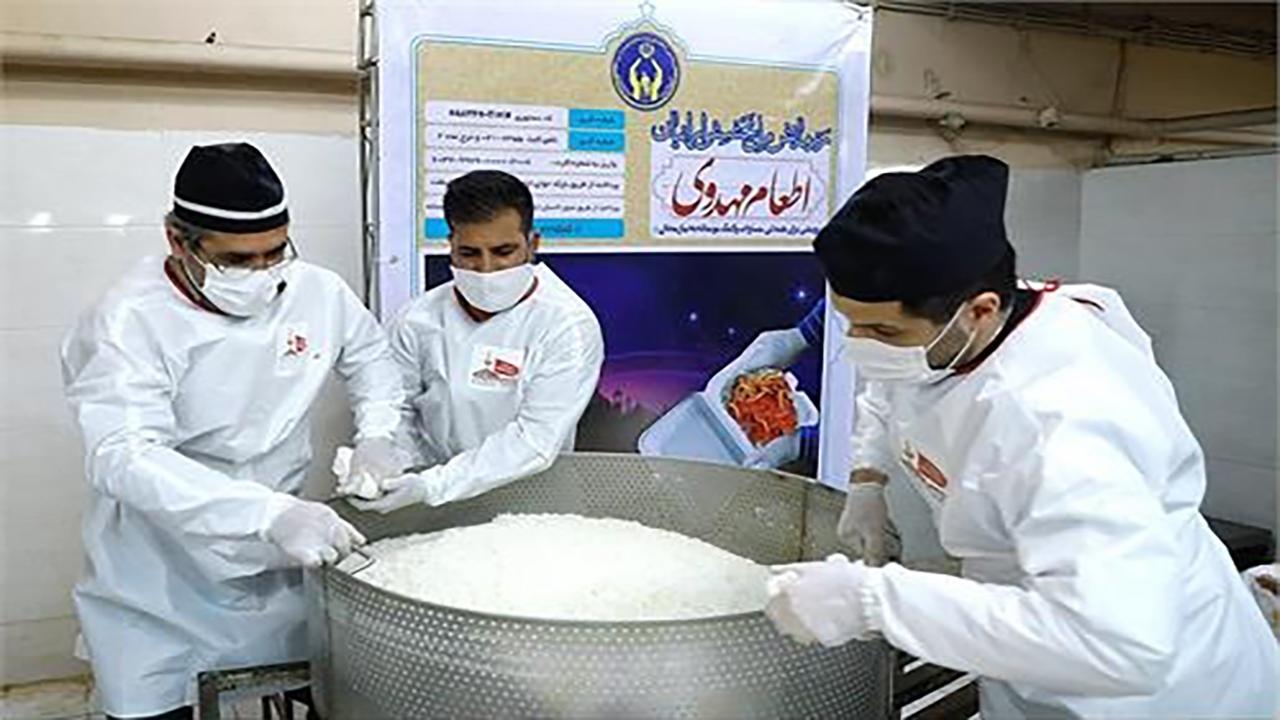 فعالیت ستاد اطعام مهدوی در خراسان شمالی