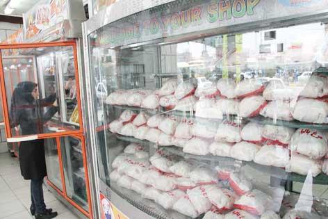 امروز؛ توزیع هزار و ۳۰ تن گوشت مرغ در تهران