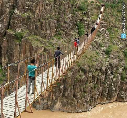 جاذبههای گردشگری اردبیل (قسمت هفتم؛ پلهای معلق)