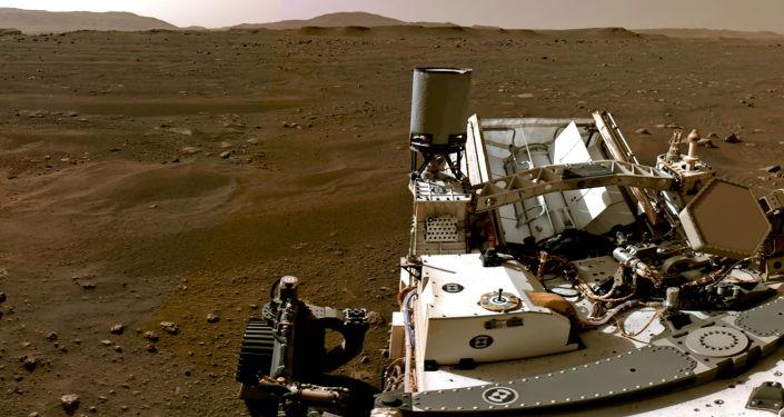 رساندن نمونه خاک مریخ به زمین