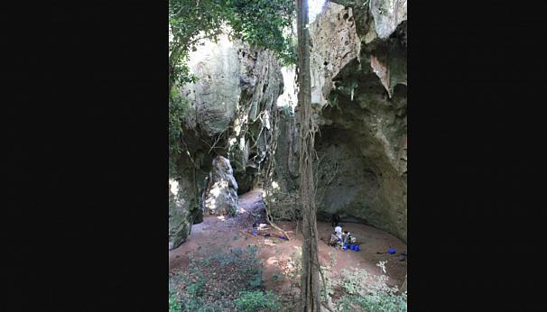 کشف بقایای ۷۸ هزار ساله از تشریفات تدفین انسان در آفریقا