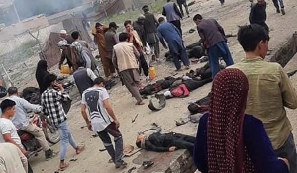 دست کم ۵۵ کشته و ۱۵۰ زخمی در حمله کابل