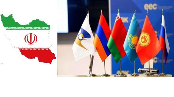 تجارت ۳.۴ میلیارد دلاری ایران با اوراسیا در سال ۹۹