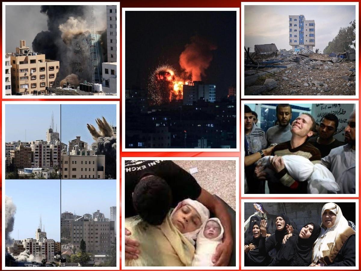 شهادت بیش از ۶۰ کودک در غزه
