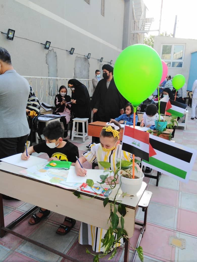 برگزاری کارگاه بین المللی نقاشی کودکان پنج کشور جهان در مشهد