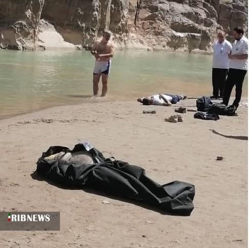غرق شدن دو نفر در قزل اوزن در محدوده شهر هشجین