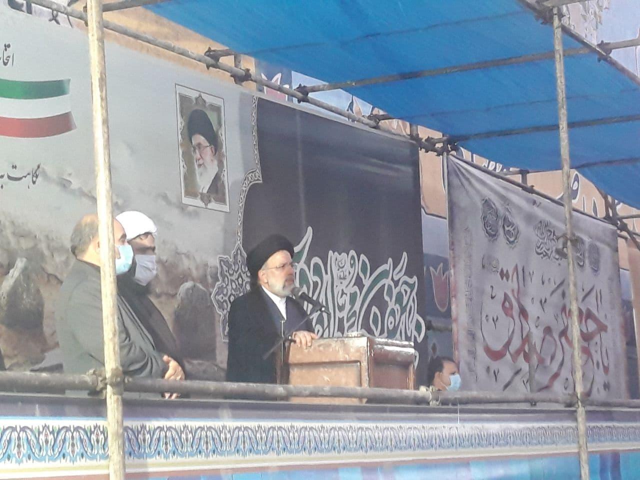 حجتالاسلام ابراهیم رئیسی در اسلامشهر