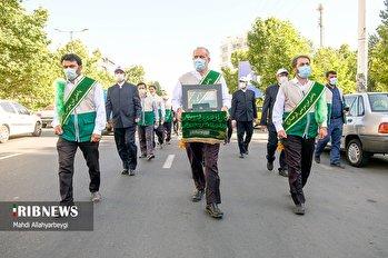 مراسم جشن دهه کرامت در کرج