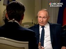 پوتین از سرکوب معترضان در آمریکا انتقاد کرد