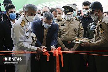 افتتاح دومین بیمارستان صحرایی ارتش