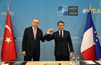 دیدار آرام مکرون و اردوغان در بروکسل