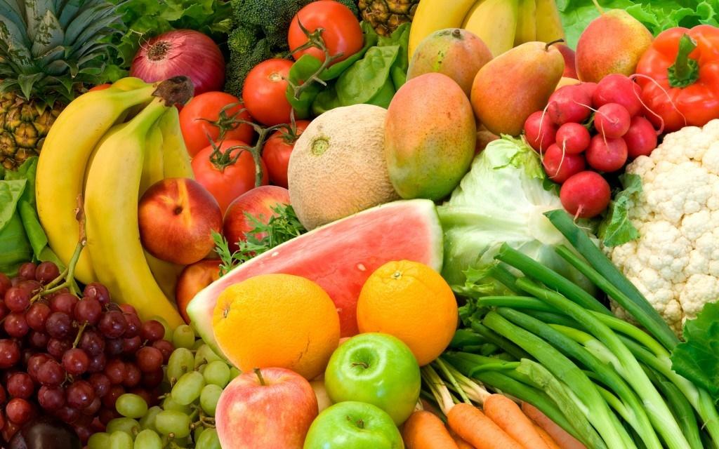 تنظیم فشار خون با مصرف میوه و سبزی