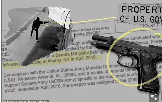 افزایش سرقت سلاح نظامی در آمریکا