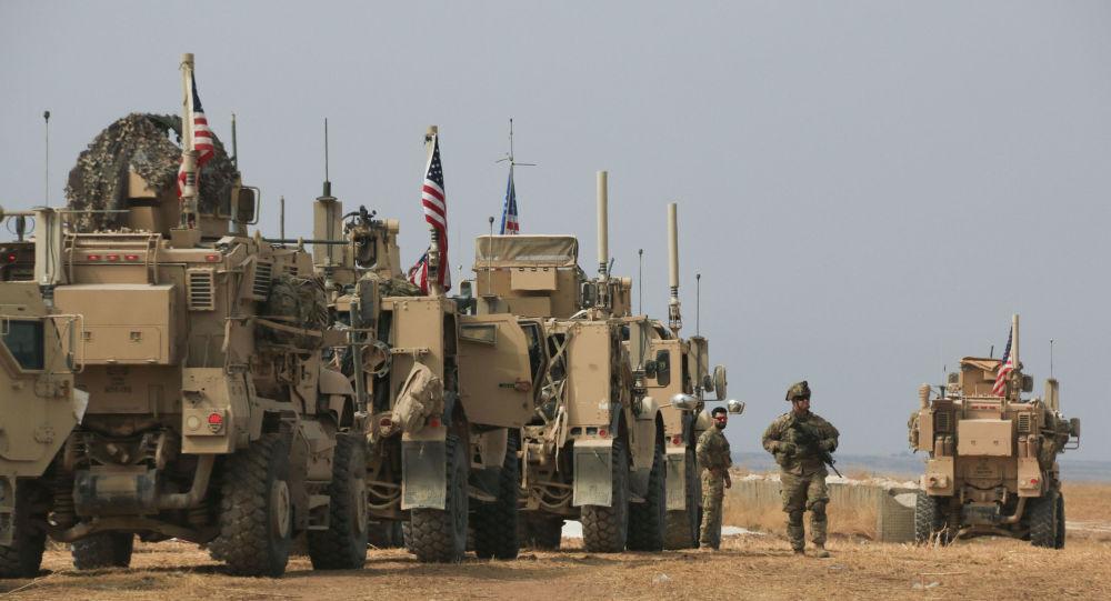 ورود کاروان دیگری از نظامیان آمریکایی به خاک سوریه