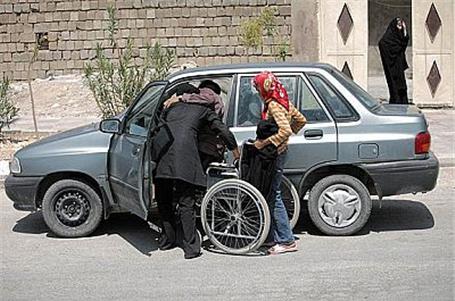 مناسب سازی خودرو برای معلولین