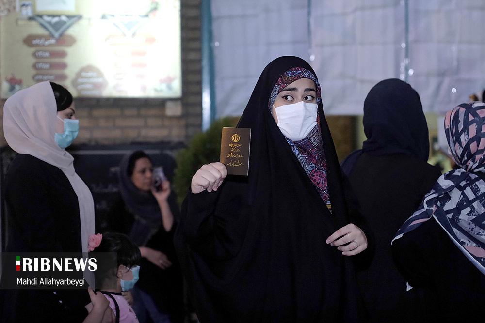 عکسهایی از حضور مردم در انتخابات ۱۴۰۰, جدید 1400 -گهر