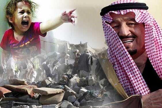 موج بی سابقه حملات جنگنده های سعودی به یمن
