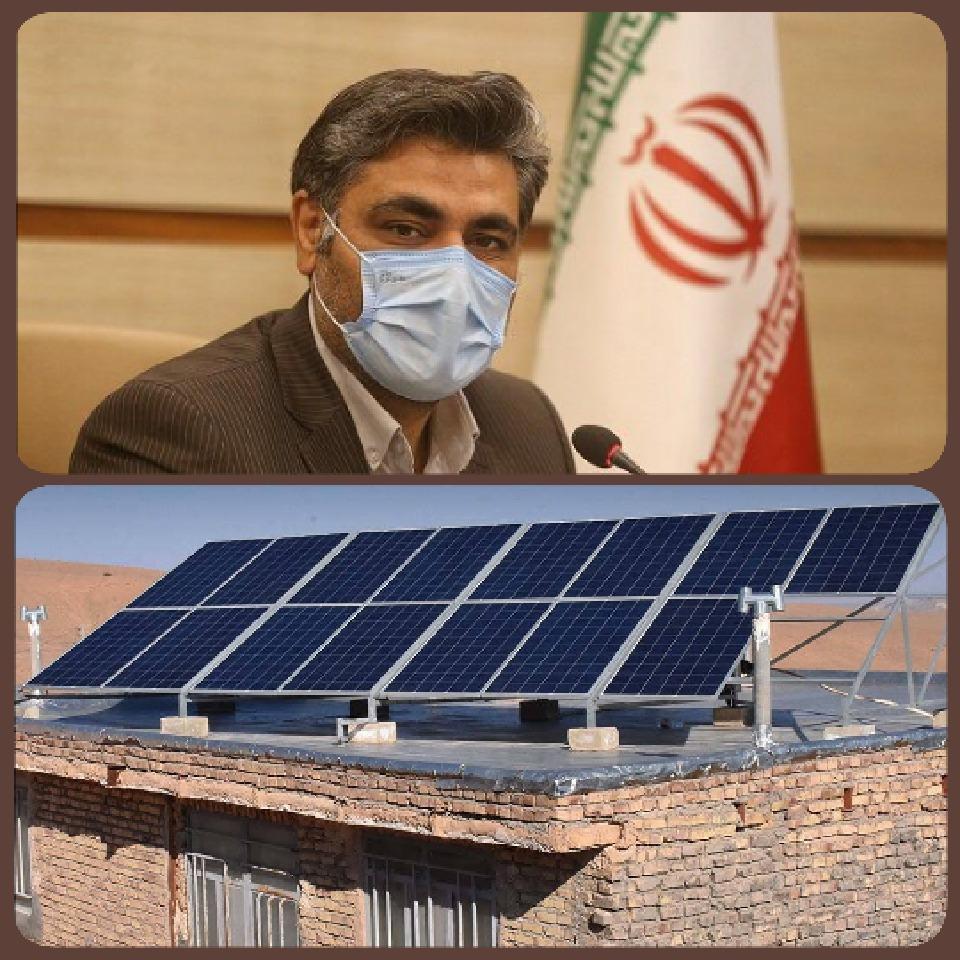 افزایش پایداری شبکه برق کشور با  راهاندازی پنلهای خورشیدی