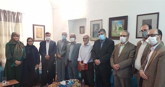 تقدیر وزیر فرهنگ و ارشاد اسلامی از دو فرهیخته پیشکسوت خراسان جنوبی
